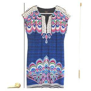 COLORFUL PRINT DRESS size S